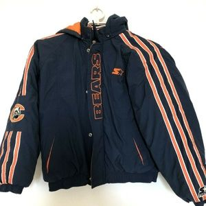 Vintage NFL Starter Chicago Bears Coat